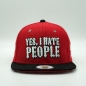 Preview: Yes, I Hate People - Custom Snaback Red