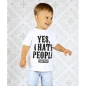 Preview: Kids Shirt - Yes, I Hate People