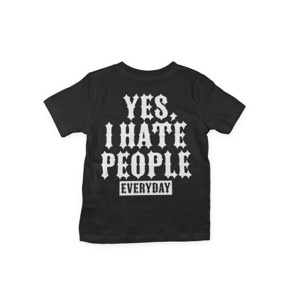 Kids Shirt - Yes, I Hate People