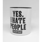 Yes, I Hate People - Tasse
